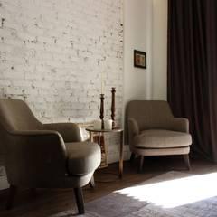 ΛRCHIST Mimarlık|Archıtecture – Gümüşsuyu'nda Stüdyo:  tarz Oturma Odası