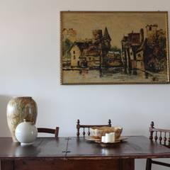 Comedores de estilo  de Caleidoscopio Architettura & Design, Rural