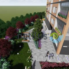 Notilus Peyzaj Tasarım ve Uygulama – Fly Vizyon / Mersin:  tarz Bahçe havuzu