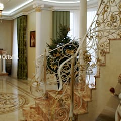 Escaleras de estilo  por Дизайнер Темненко Ольга