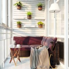 Balcony by Проектно-строительная компания УралДеко