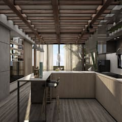 Small-kitchens توسطSTUDIO PARADIGM, اسکاندیناویایی