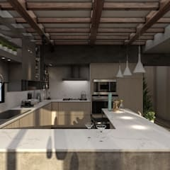 Small kitchens by STUDIO PARADIGM