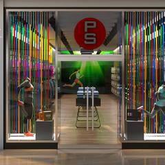 Tienda Deportiva CC Paque Cerro Verde: Casas de estilo  por Proyectos C&H C.A