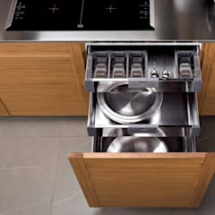 Muebles de Cocina - Café con Leche: Muebles de cocinas de estilo  por Corporación Siprisma S.A.C,