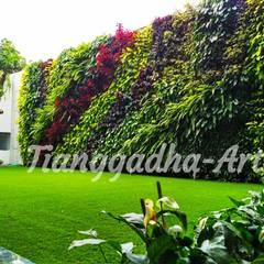 Tukang taman Surabaya -proyek Rumah tinggal: Dinding oleh Tukang Taman Surabaya - Tianggadha-art, Modern Aluminium/Seng