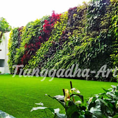Tukang taman Surabaya -proyek Rumah tinggal:  Dinding by Tukang Taman Surabaya - Tianggadha-art