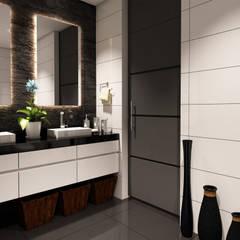 ห้องน้ำ by Taller 3M Arquitectura & Construcción