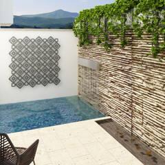 Terrace by Taller 3M Arquitectura & Construcción