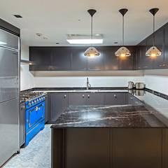 삼성동 쌍용 플래티넘 아파트: 모노웍스의  빌트인 주방