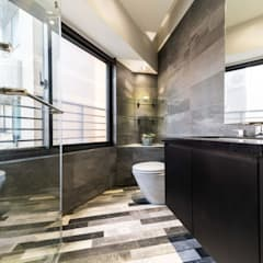淡水鄒宅:  浴室 by NO5WorkRoom