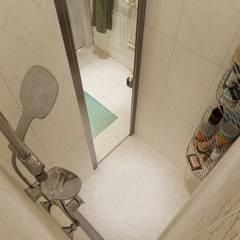 """Дизайн - проект """"Loco"""" - Москва. Ванная в средиземноморском стиле от Студия дизайна и ремонта КВАДРАТ Средиземноморский"""