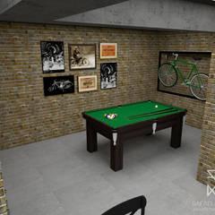 Projeto de Interiores N&T Adegas rústicas por Rafaela Longhi Arquitetura e Interiores Rústico MDF
