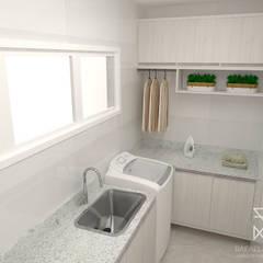 وحدات مطبخ تنفيذ Rafaela Longhi Arquitetura e Interiores,