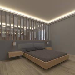 ASN İç Mimarlık  – DAİRE MOBİLYA TASARIMLARI:  tarz Yatak Odası