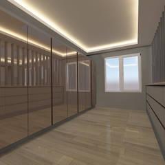 ASN İç Mimarlık  – DAİRE MOBİLYA TASARIMLARI:  tarz Giyinme Odası