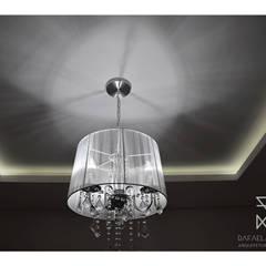 Gesso Sala de Jantar: Salas de jantar  por Rafaela Longhi Arquitetura e Interiores