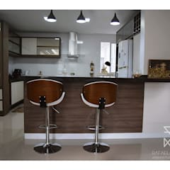 Muebles de cocinas de estilo  por Rafaela Longhi Arquitetura e Interiores