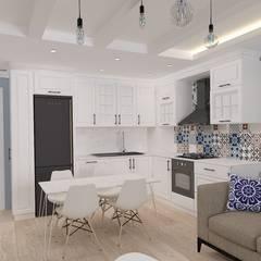 ASN İç Mimarlık  – Yazlık Konut:  tarz Oturma Odası
