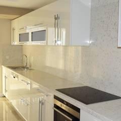 ASN İç Mimarlık  – Antalya Lara daire:  tarz Mutfak üniteleri