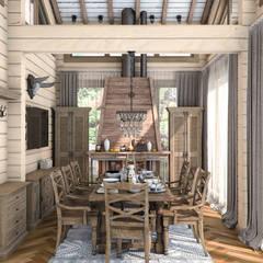 Kitchen by Проектно-строительная компания УралДеко