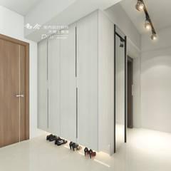 الممر والمدخل تنفيذ 木博士團隊/動念室內設計制作