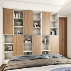 臥室:  小臥室 by 木博士團隊/動念室內設計制作