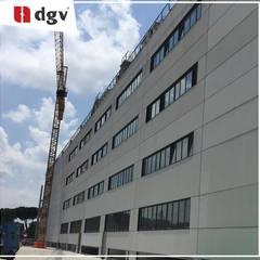 Office buildings by DGV metal srl