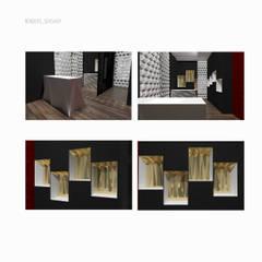 Loja de chas, sexshop e loja underwear l Lisboa : Espaços comerciais  por Sarah Paula - Interior Design