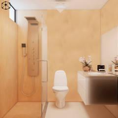 PROYECTO DE INTERIORES: Baños de estilo  por STUDIO ZINKIN