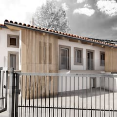 WoodSticks: Casa di campagna in stile  di BAAG atelier
