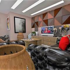 Sala: Salas de estar  por Arquiteto Fraga Studio