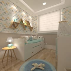 Baby room by Legrand Arquitetura