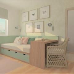 Teen bedroom by B-HOUSE, Scandinavian