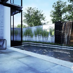 Piscinas de jardín de estilo  por Gelker Ribeiro Arquitetura | Arquiteto Rio de Janeiro