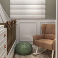 Dormitorios de bebé de estilo  por Traccia Arquitetura, Moderno