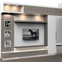 غرف نوم صغيرة تنفيذ Milav Design