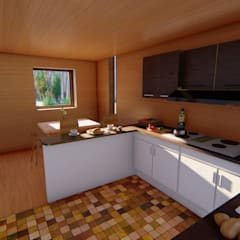 Dapur built in by Ekeko arquitectura  - Coquimbo