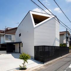 Projekty,  Dom wielorodzinny zaprojektowane przez 設計事務所アーキプレイス