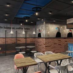 Monodesign İçmimarlık – VALIOSA CAFE:  tarz Yeme & İçme