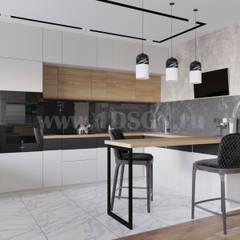 Kitchen by Дизайн студия 'Дизайнер интерьера № 1'