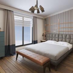 Monodesign İçmimarlık – BAYKAL EVİ:  tarz Yatak Odası