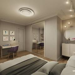 Monodesign İçmimarlık – GÜL SOKAK DAİRE:  tarz Yatak Odası, Modern
