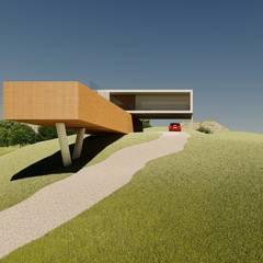 Nhà đồng quê theo Aoki Arquitetura, Hiện đại