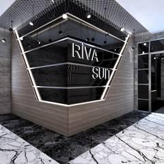 Estudios y despachos de estilo  por VR ELTA Solutıons