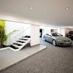 Garajes abiertos de estilo  por STUDIO ZINKIN