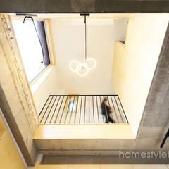Stairs by 주택설계전문 디자인그룹 홈스타일토토