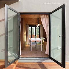 Balcony by 주택설계전문 디자인그룹 홈스타일토토, Modern