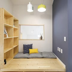 Modern Media Room by 주택설계전문 디자인그룹 홈스타일토토 Modern