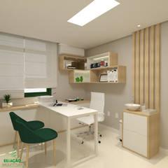 Clínicas de estilo  por Estação Arquitetura